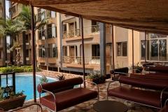 pool-terrace-beers-kampala-prestige-hotel-suites