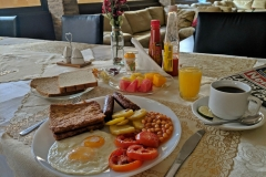 English Breakfast Kampala Hotel Prestige Hotel Suites